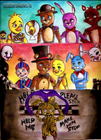 Their relationships_FNAF by crescentshadows19