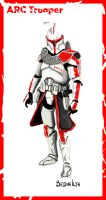Star Wars ARC Trooper by FoxbatMit
