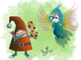 Rise of the Guardians - A Cookie Christmas by plainage