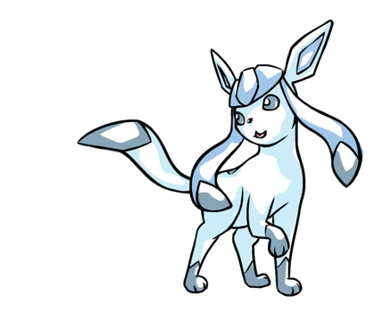 Glaceon by PhoenixWave34