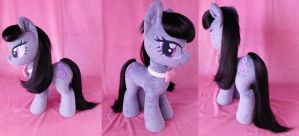 Brush-A-Plush Octavia Melody Plushie Commission by Zooher-Punkcloud