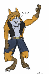 The Werefox by V8Arwing67