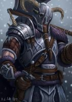 Winter Nord Warrior by Samo94