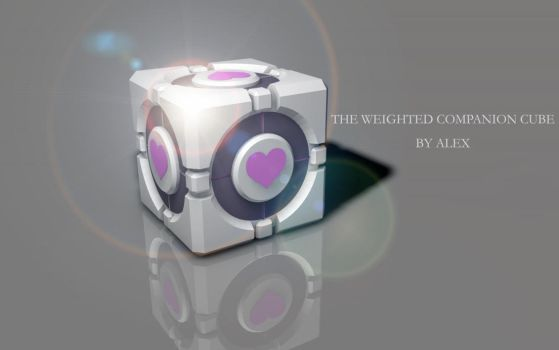 The Weighted Companion Cube by Park0urdude