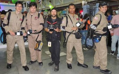 The Ghost Buster Cosplay by jhonedwardelric