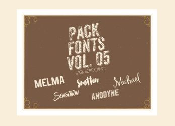 Pack Fonts Vol. 05 by xPEGASVS