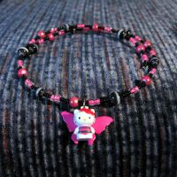 Hello Kitty Fairy Necklace by wickedland