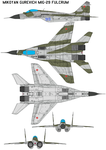 MiG-29 FULCRUM by bagera3005