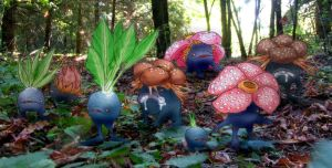 Oddish Gloom Vileplume