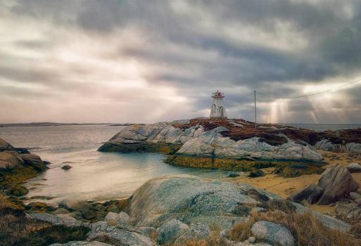 Terence Bay Lighthouse Nova Scotia Canada by ShawnaMac