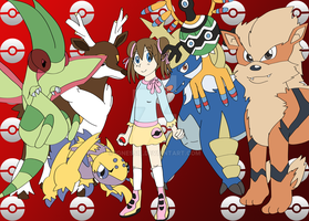 Pokemon White 2: Hall of Fame Group by ignessie