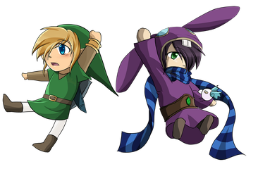 Set Link and Ravio by Alamino