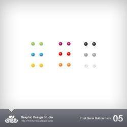 Mini Gem Buttons Pack 05 by sizer92