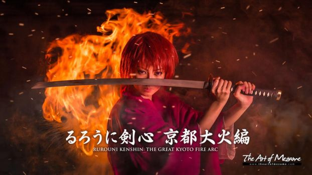 Rurouni Kenshin: The Great Kyoto Fire by freckledsmile