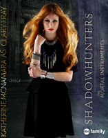 Shadowhunters Poster: Clary Fray by feel-inspired