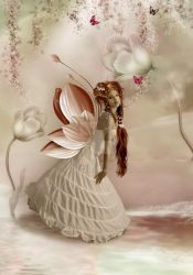 In the fairy world by CindysArt