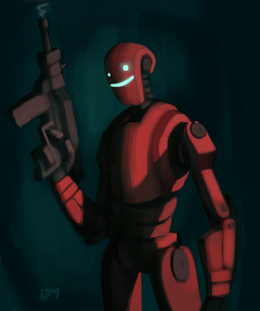 Security (Red) by djm106
