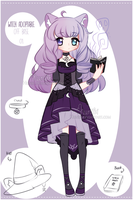 +Off-base Sketchy Witch adoptable[CLOSED]+ by Hunibi