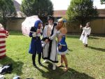 Juvia, Pimp Gray and me as Lucy Tartaros =D by Lucy-chan90