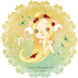 Astrological sign Aries by Nailyce