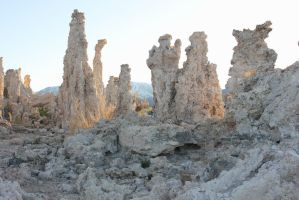 Stock: Tufa Sunset 1 by PapayaPirate