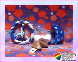 Rainbow Heart Charms Vol. 5 by RKdesign1314