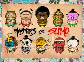 MASTER OF SUMO SERIE 1 by BrainBlueArts