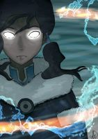 Avatar State Korra Version Two by ItsAshree