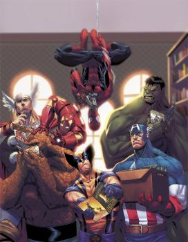 Avengers cover by ZurdoM