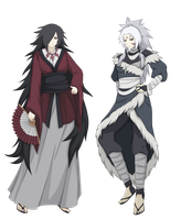 Uchiha and Senju moms by FireEagleSpirit