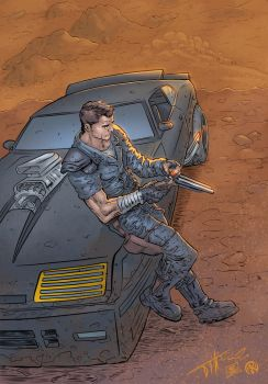 Mad Max - colors by ZethKeeper