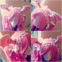 Pink Batwing Maidband by NoFlutter
