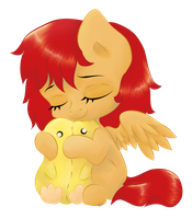 Sometimes All You Need Is A Hug by Avelineh