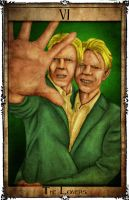 Bowie Tarot Collection - VI - The Lovers by Triever