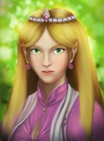 Zelda portrait by Efraimrdz