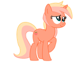 Creamy Peaches Vector by P-Paradox