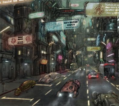 streets by flyingdebris