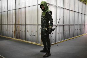 Arrow cosplay by GraysonFin