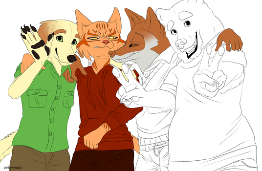 The Good Boys (WIP) by pinkykyra