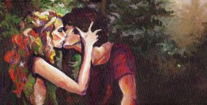 Kiss of the Dryad by DBZ-Obsessed
