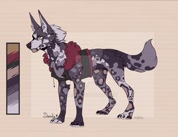 Canine Adoptable [Closed] by Daroity