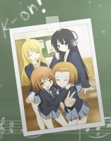 K-on - Say Cheese by manager-ken