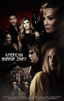 American Horror Story - Murder House (Poster) by Panchecco