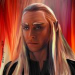 Lucian/Thranduil by pucapup