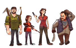The Last Of Us by yosilog
