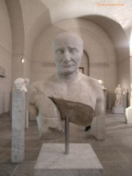 Glyptothek munich 12: Bust of an Isis priest by Sonnenkatze346