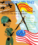 Vietnam War Magazine Project-Cover by MirabelleLeaf31