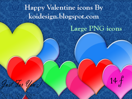 Valentine's  Day - Icons by koidesign