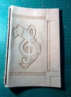 Music book Leather Cover by PracticalApplication