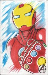 Ironman with the golden glove? by McDave19